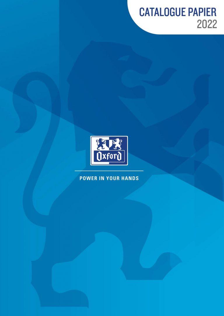 Catalogue Oxford GMS Papier 2022