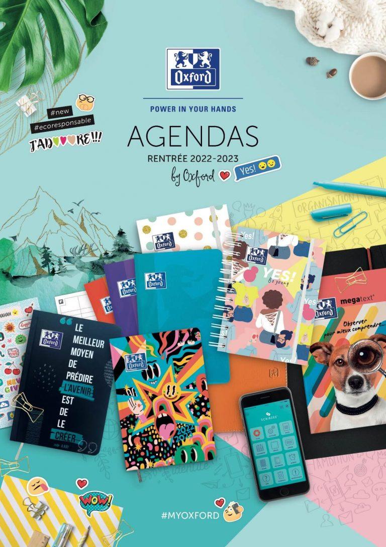 Catalogue Agendas scolaire rentrée 2022-2023