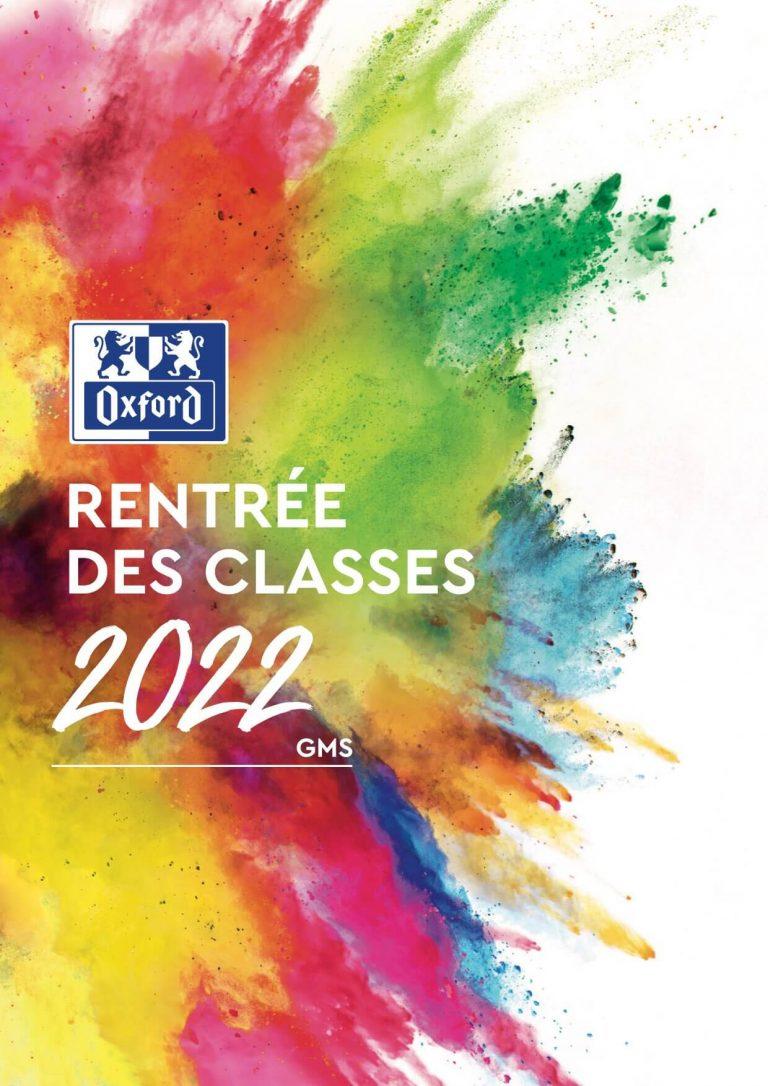 Catalogue Rentrée des Classes 2022 GMS